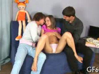 Adorable Virgin Hottie Gets Lusty Examination