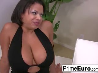 hottest brunette full, nice big boobs, you drilled real
