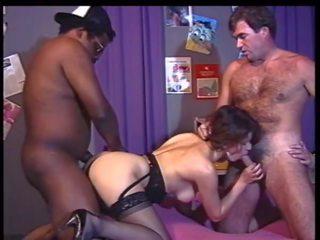 ideaal groepsseks seks, trio mov, u wijnoogst klem