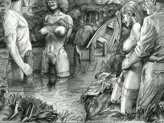 vol comics thumbnail, ideaal drawings scène