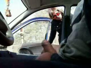 Public Cock Flashing In The Car
