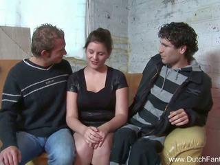 Random holandské trojka v holland, zadarmo porno ea