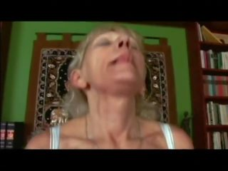 70 Yo Granny with Blond Hairy Pussy by Cybernoob: Porn 82
