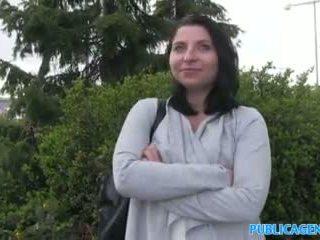 Publicagent Hot Babe Sucks And Fucks For Cash