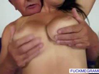 new brunette most, big boobs, hq blowjob