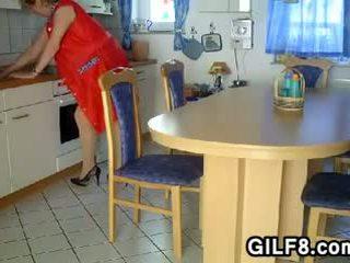 gilf, senelė, močiutė, brandus