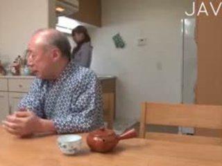 日本, 老+年轻, 青少年, 亚洲人