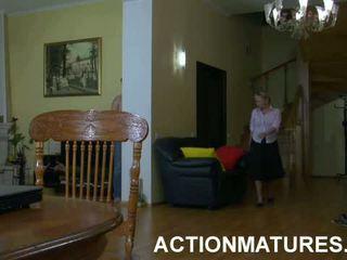 Ottilia Adam Seductive Mom In Action