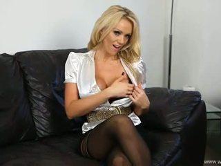 frisch groß nenn, heißesten striptease, blondine