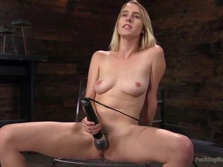 Blonde Girl Next Store Cadence Lux Squirts from Fucking