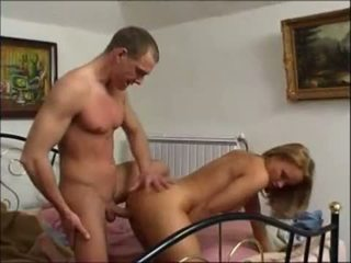 Blonde Wife Drains Her Lover's Balls