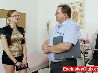 check gaping, more vagina clip, doctor