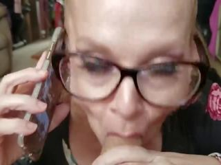Mom Sucks Off Step Son Cock While His Dad Is on the Phone ***role Play***
