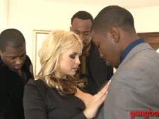 Sarah Vandella Double Boned By Black Men