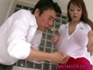japanse, zien grote borsten, hardcore