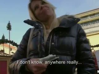 Czech girl Adrienne creampied for money