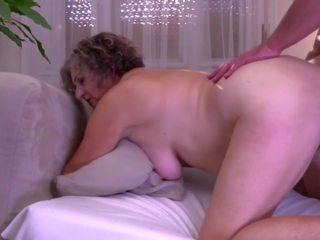 Grandma gets Young Cock for Hairy Old Cunt: Free HD Porn 92