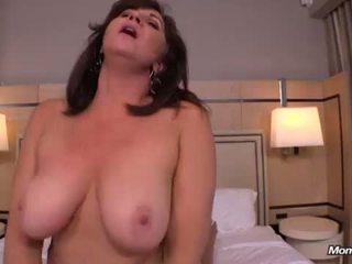 hottest cougar thumbnail, big tits, fresh busty milf
