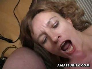 Amateur milf gets sie arsch und muschi toyed und wichse