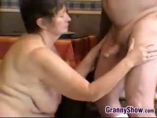 Horny Grandma And Grandpa Having Sex