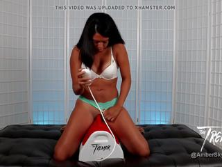 Amber Skyy: The Tremor & Sex Toy Porn Video 52
