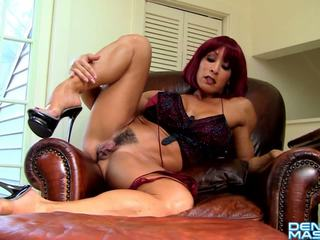 Denise Masino - Red Head Anal Play Video - Female Bodybuilder