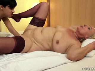 groot kut likken seks, heet oud, ideaal lezzy scène