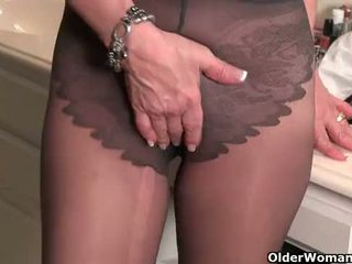 full cougar tube, new gilf action, hottest tights