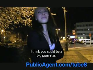 PublicAgent Movie extra gets fucked behind film studios