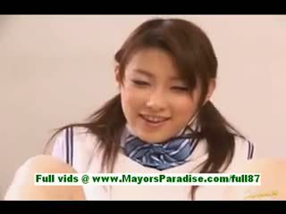 any uniform, nice handjob video, more asian movie