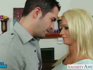 nominale blondjes neuken, zien grote borsten, nominale pov actie