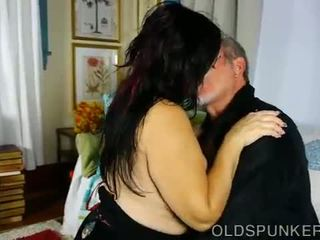 Super cute chubby old spunker wants you to cum in her mouth