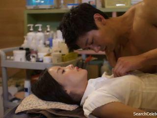 plezier brunette vid, plezier japanse video-, een zoenen