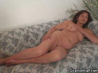 plezier realiteit video-, oud seks, kijken grootmoeder thumbnail
