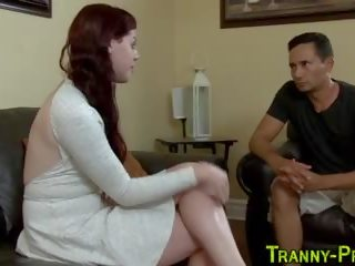 Tgirl ho gets analized
