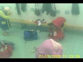 Gym Locker Room Hidden Spycam