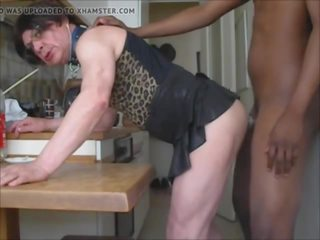 Fucked in the Kitchen, Free African Porn Video 5f