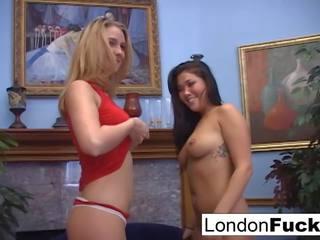 London and Natalie Norton Suck Cock, Free Porn 9d