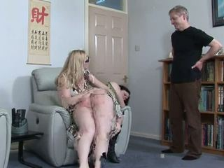 Plump Girl Spanked by Aunt and Uncle, Porn 43