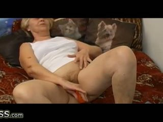 aged, granny, masturbation
