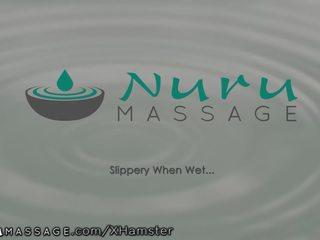 kijken masseuse actie, vol baan, 3some scène