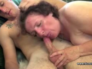 ideal granny, nice fat great, cumshot