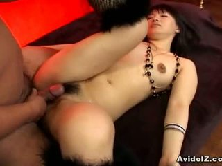 Akane Ozora Gets Both Of Her Holes Fucked1