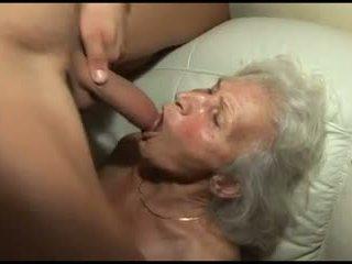 grannies mov, controleren behaard video-
