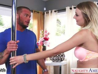 Cycate żona natalia starr gets różowy krocze fucked