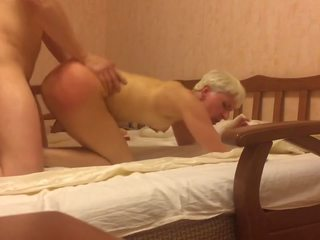 Hardcore Fucking Russian Short Hair Mature Mom: HD Porn 60