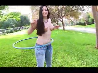 controleren brunette kanaal, naakt, online meisje video-