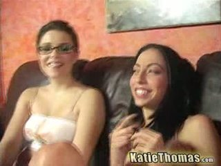 Veronica tone at katie banged by a itim fella