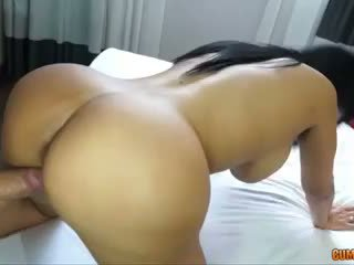full brunette scene, great booty tube, fun puta