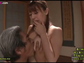 brunette scène, orale seks film, heetste japanse